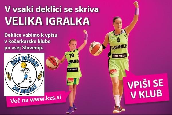 promocija šol košarke